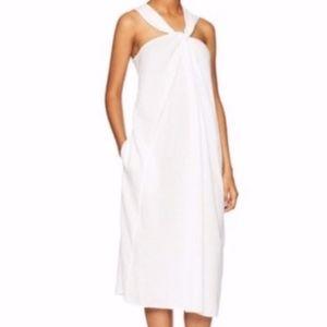 NEW Vince Twist Front Halter Dress